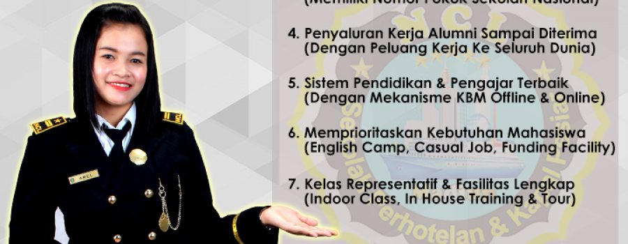 Inilah Keunggulan Sekolah Perhotelan Kapal Pesiar NCL Madiun Yang Bikin Calon Mahasiswa Rebutan Jatah Kuota!