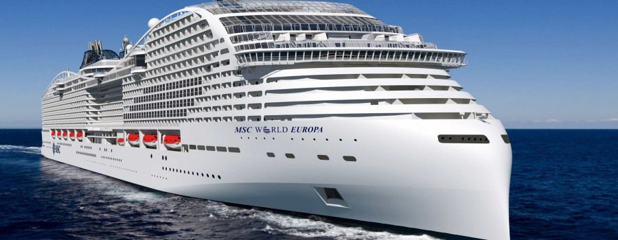 MSC World Europa Kapal Pesiar Raksasa Terbaru di Tahun 2022.
